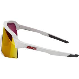 100% S3 Gafas, white/hiper mirror